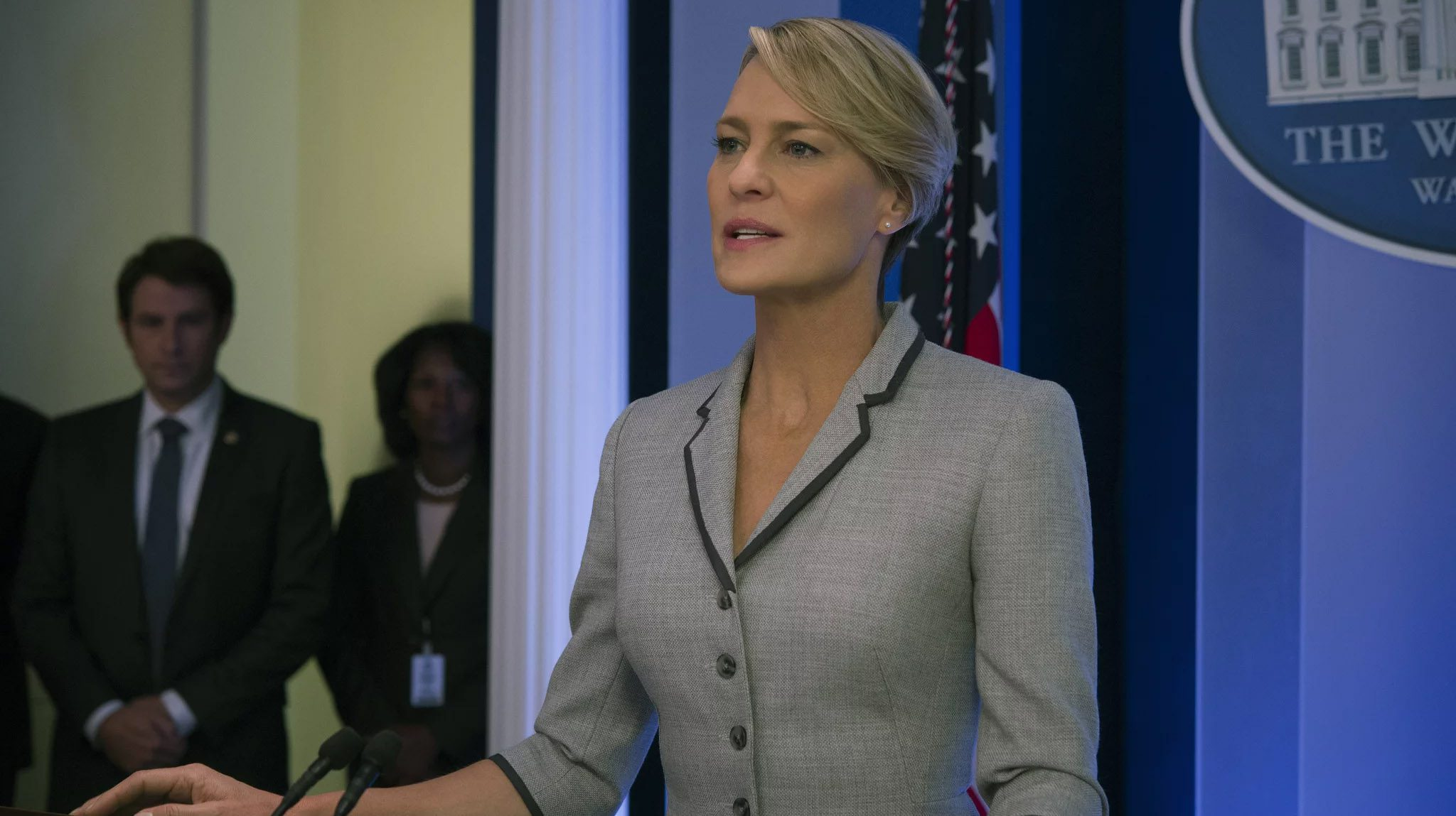 For five long seasons, Netflix's hit political drama 'House of Cards' has seen Claire & Frank Underwood at the helm of the US government. That's all set to change with the forthcoming final season.