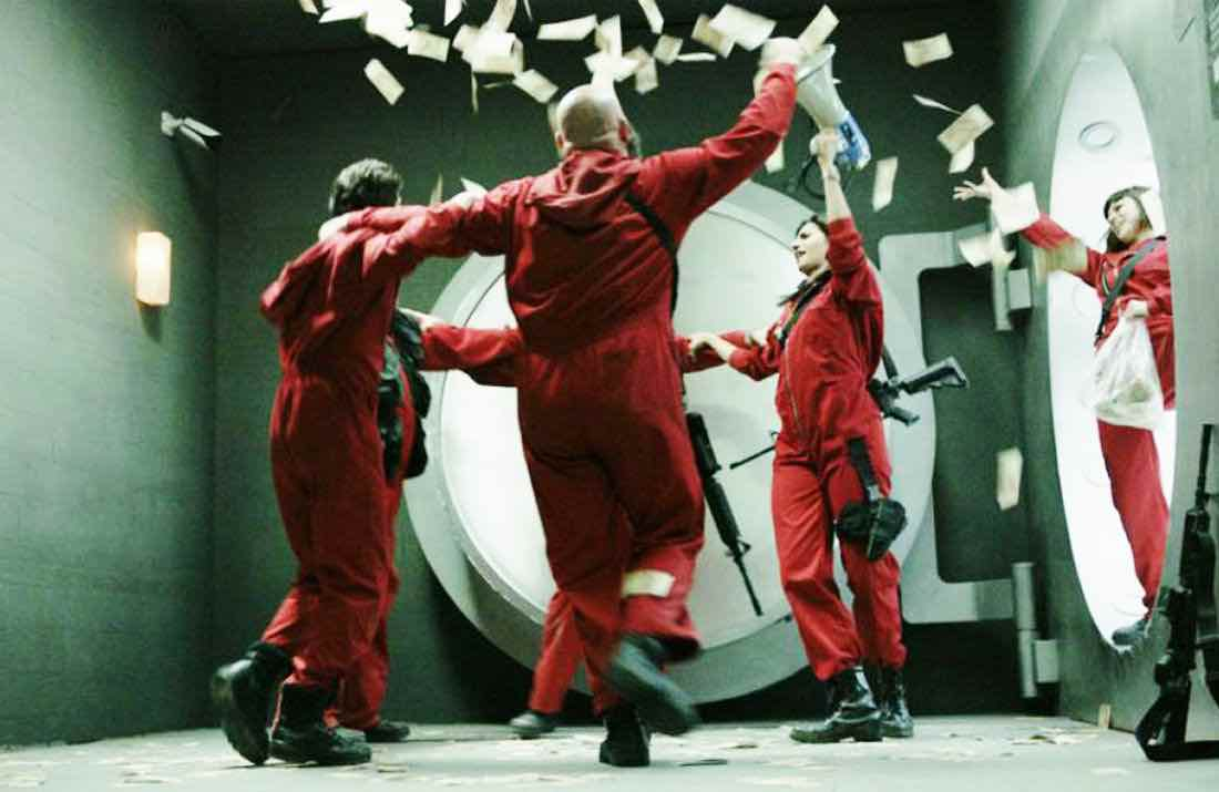 To help 'Money Heist''s creative team come up with concepts, below is our list of all-time colorful and amazing real-life heists.