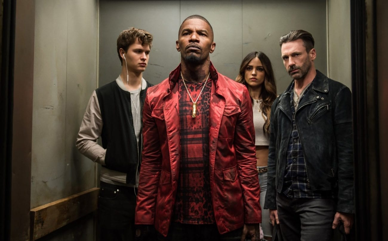 Baby Driver follows a young getaway driver (Ansel Elgort) relying on the beat of his personal soundtrack to stay the best in the game.