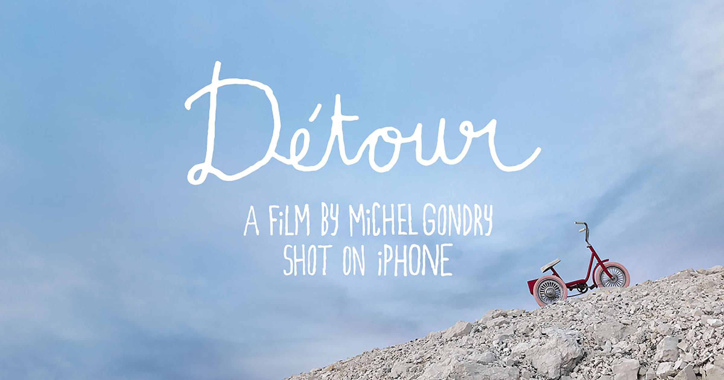 Director Michel Gondry has shot his latest short film 'Détour' entirely on his iPhone7, funded by a promotional effort by Apple.