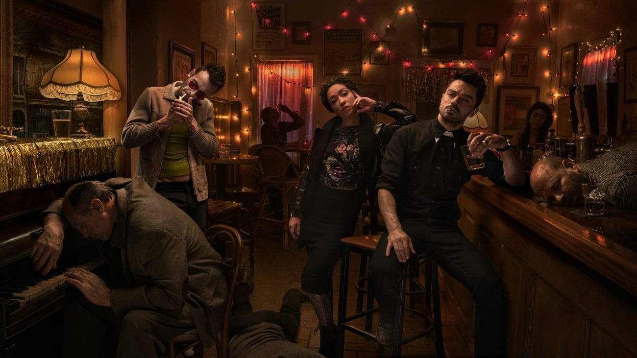 In 'Preacher', Jesse Custer, a small-town preacher with a criminal past, realizes God is absent from Heaven and sets out to find Him.