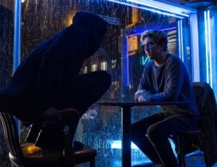 'Death Note' follows a high school student who comes across a supernatural notebook that kills anyone whose name gets written into it.