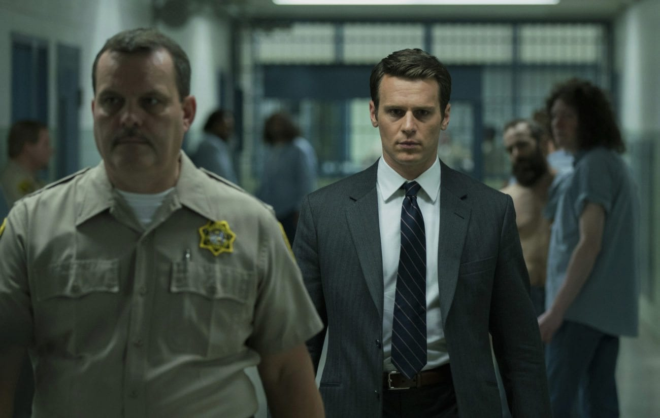 Two FBI agents set out on a sinister investigative odyssey to discover the brutal answers to how crazy thinks in 'Mindhunter'.