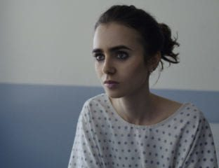 Lily Collins and her epic eyebrows suffer from poor little white girl syndrome in 'To The Bone', making this nothing but clickbait for the streaming giant.