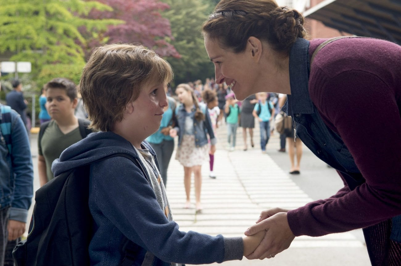 'Wonder' tells the story of August Pullman, born with facial differences. Auggie becomes the most unlikely of heroes when he enters the local fifth grade.