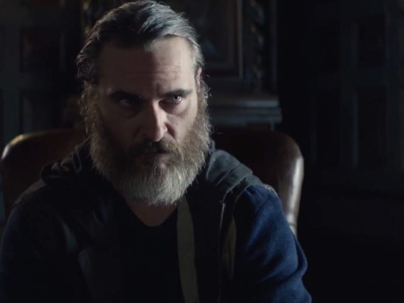 In 'You Were Never Really Here', corrupt power and vengeance unleash a storm of violence that may lead to a brutal enforcer's awakening.
