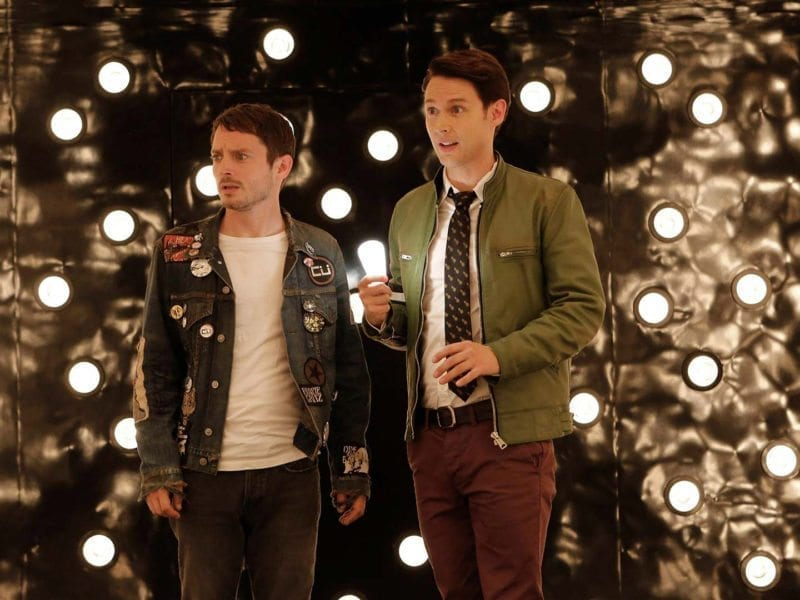 Adapted from the wildly popular novels by Douglas Adams, 'Dirk Gently's Holistic Detective Agency' stars Samuel Barnett and Elijah Wood.