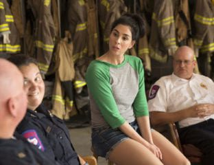 Sarah Silverman sings about America in the premiere song from her Hulu Original Series 'I Love You, America'.