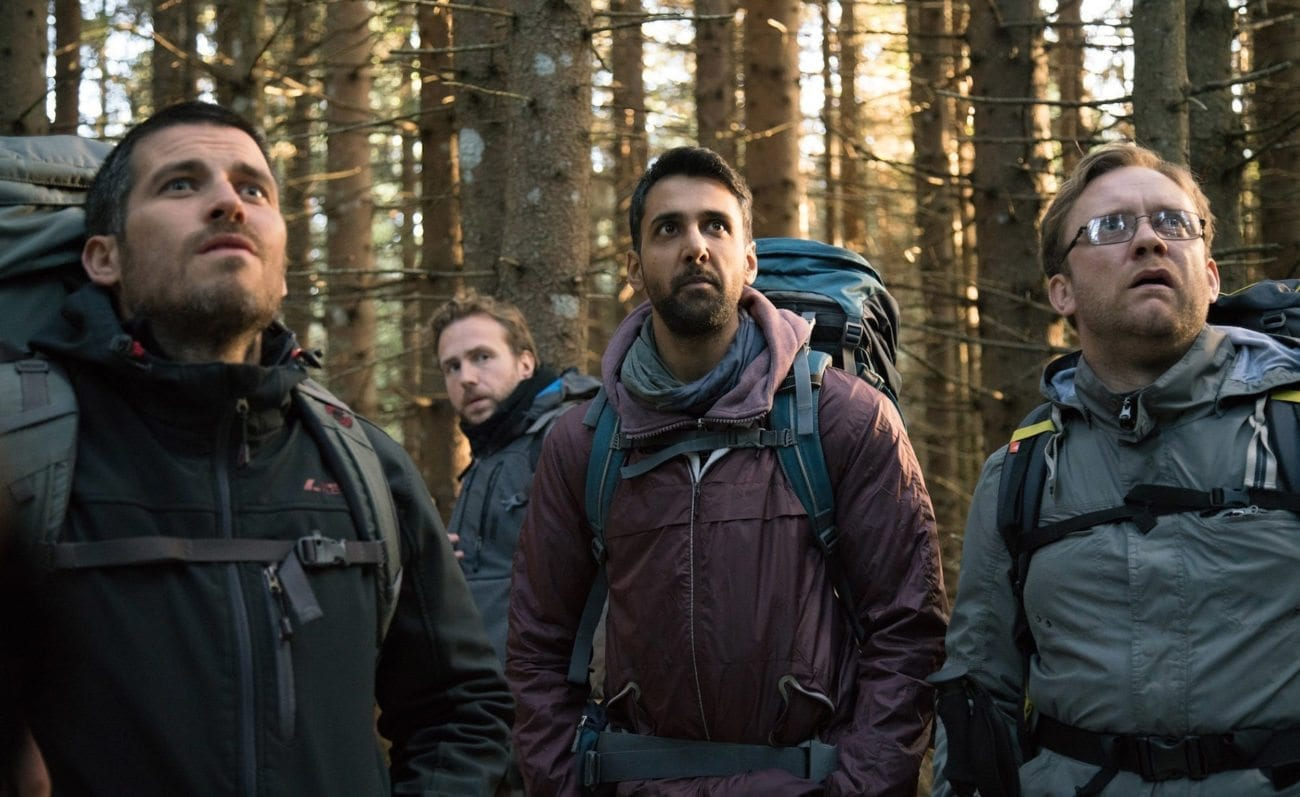 After the death of their friend, a group of old college friends embark on a hiking trip through an unnerving Scandinavian forest in 'The Ritual'.