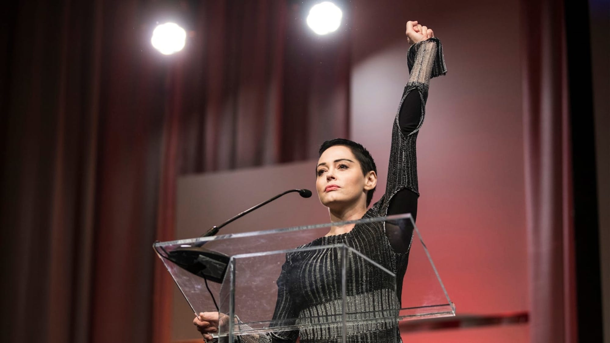 """Rose McGowan's new docuseries 'Citizen Rose' premiered last night with a two-hour episode on E! and the reviews are landing. According to The Hollywood Reporter, """"McGowan leaves no stone unturned when documenting her life as an activist in the #MeToo era."""""""