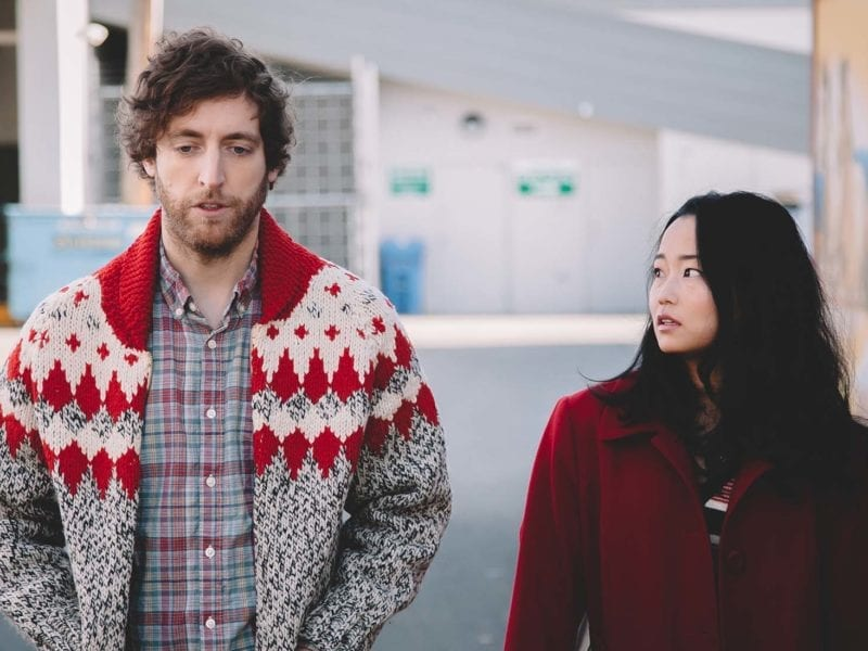Thomas Middleditch, star of 'Silicon Valley', gives a brilliant, deadpan comedic performance as a man in a downward spiral in 'Entanglement'.
