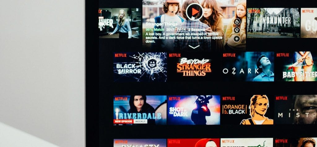 Netflix's streaming library