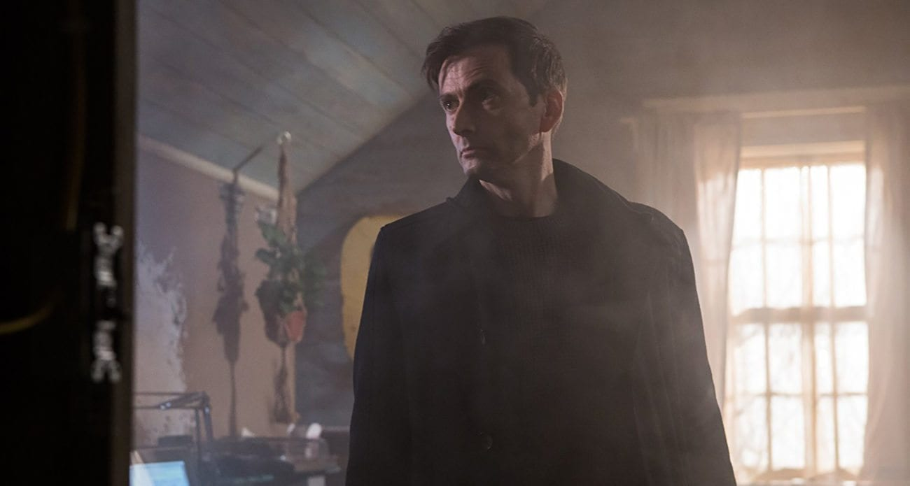 Legion M's 'Bad Samaritan' is probably Tennant's most sinister role yet. In celebration, let's take a look at nine of the actor's other dark roles.