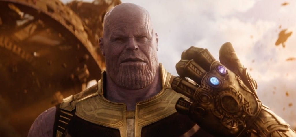 Josh Brolin as Thanos in 'Avengers: Infinity War'