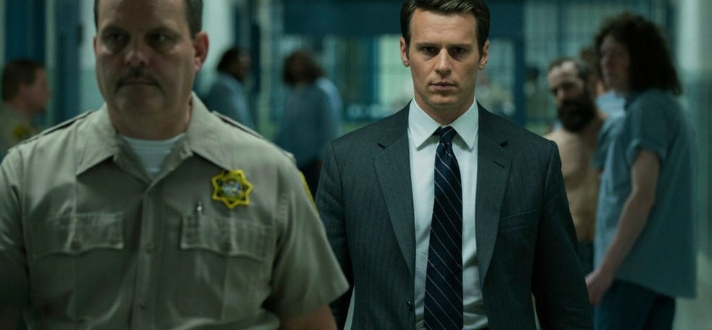 Jonathan Groff in 'Mindhunter'