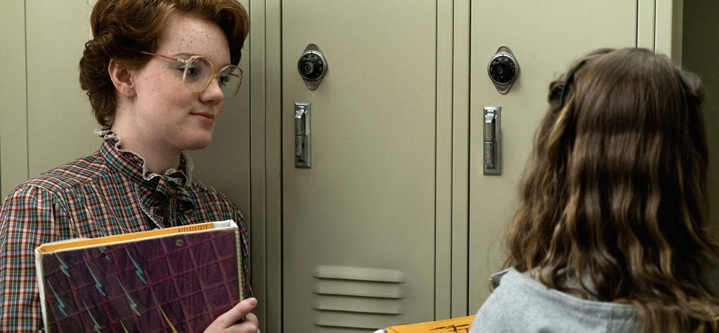 Shannon Purser as Barb in 'Stranger Things'