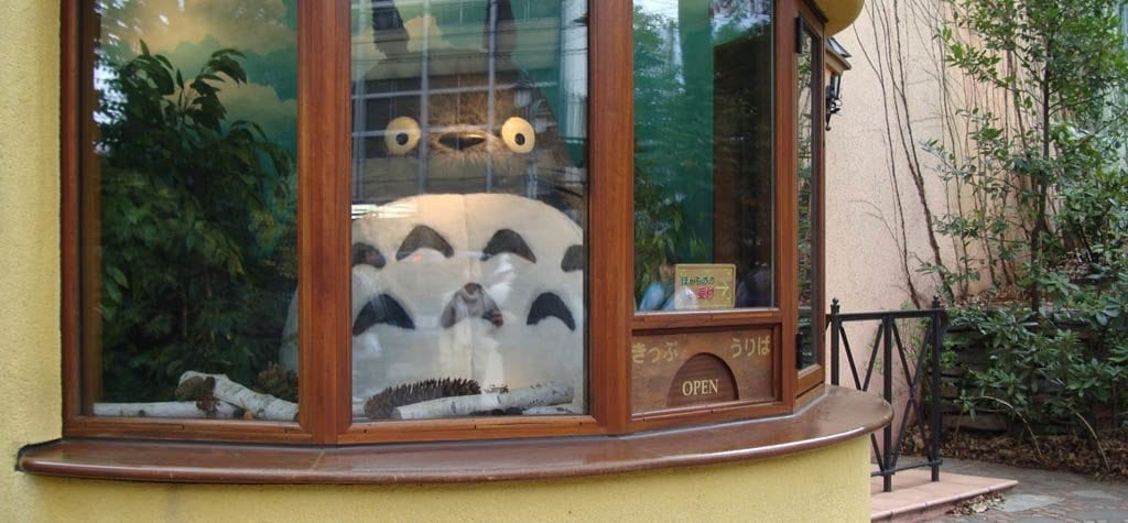Studio Ghibli museum in Japan