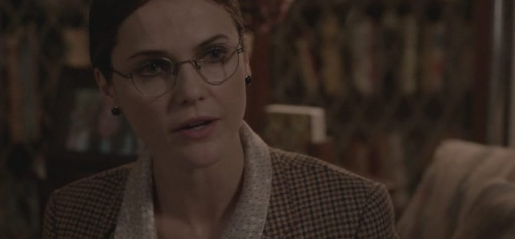 Keri Russell as Elizabeth Jennings as Frances in FX's 'The Americans'