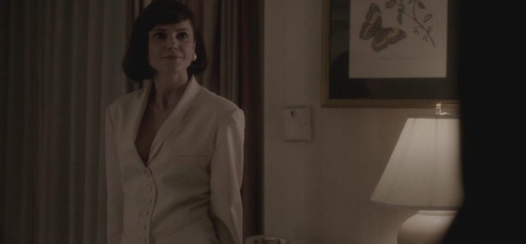 Keri Russell as Elizabeth Jennings as Ms. Lefler in FX's 'The Americans'