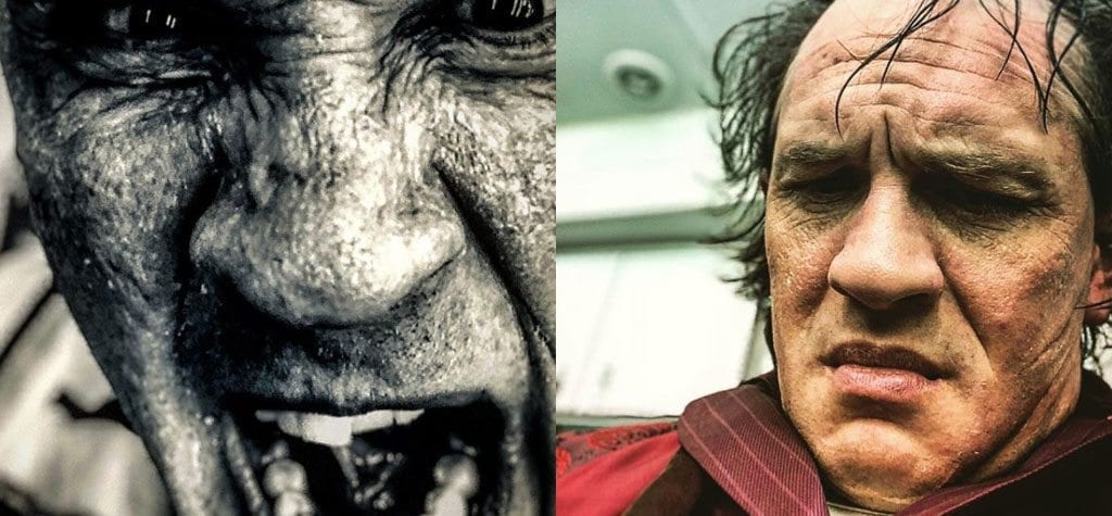 You're a monster! The most extreme actor transformations in cinematic history: Tom Hardy in 'Fonzo'