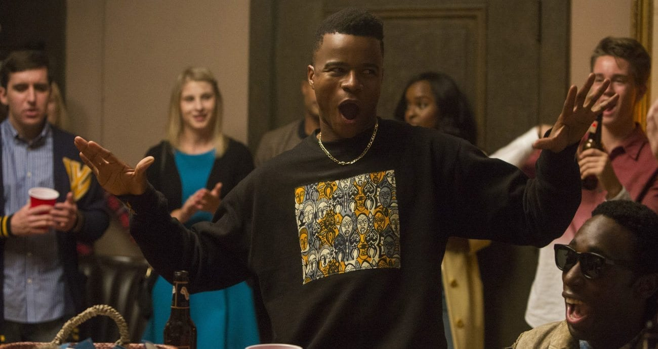 While Netflix hasn't renewed 'Dear White People' for a third season yet, 2S was a side success, so it's looking likely. In the meantime, we've put together a 'Dear White People' drinking game for you to enjoy and pass the time with your fellow woke buddies.
