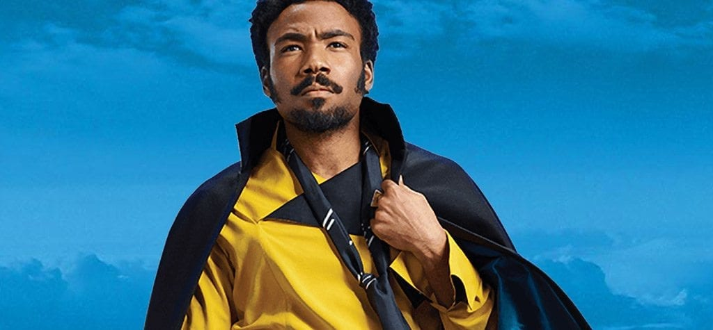 Donald Glover in 'Solo: A Star Wars Story'