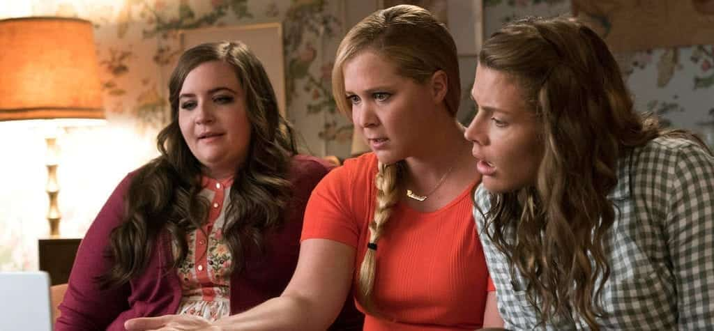 Busy Philipps, Amy Schumer, and Aidy Bryant in 'I Feel Pretty'