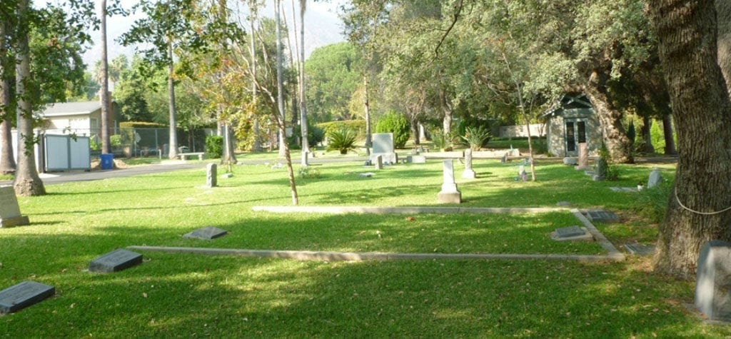 Pay your respects to Laura Palmer at The Sierra Madre Pioneer Cemetery