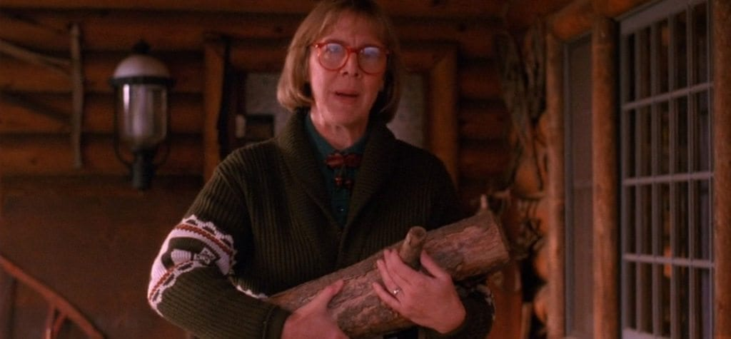Twin Peaks: Catherine E. Coulson as the Log Lady
