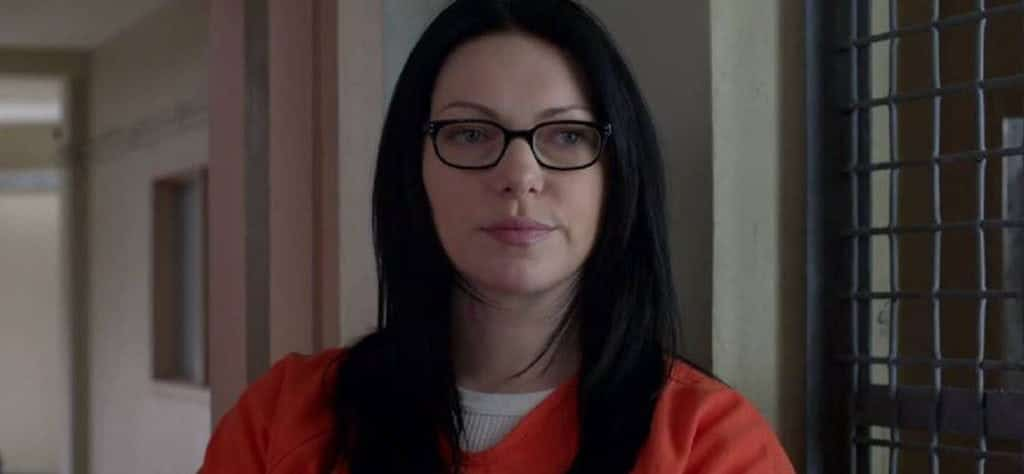 Alex Vause (Laura Prepon) in 'Orange Is the New Black'
