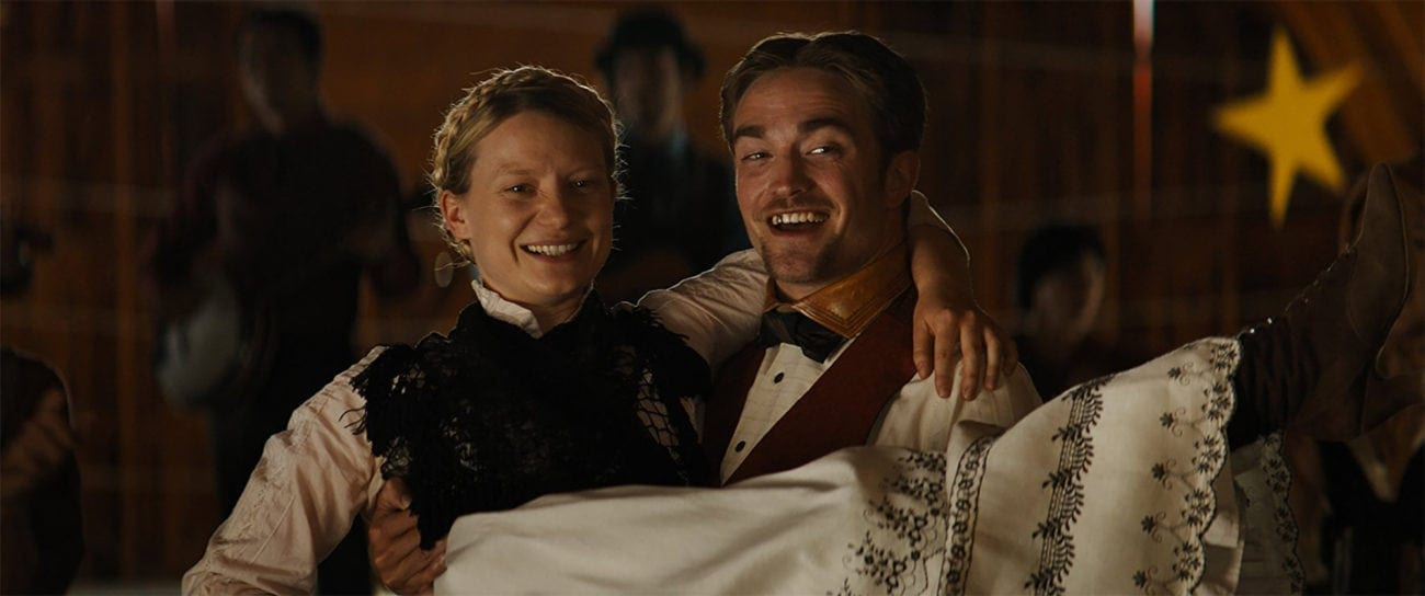 'Damsel' is finally hitting the theaters this weekend. Ya boy Robert Pattinson stars as an affluent pioneer in the Wild West circa 1870 who ventures deep into the American wilderness to reunite with and marry the love of his life, Penelope (played by Mia Wasikowska).