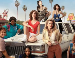 'GLOW' launches its second season this week on Netflix. The comedy-drama, based on an actual show from the eighties, centers around the campy and kitsch world of women's wrestling. Here's how the writing team behind the show infuses its characters with both realism and purpose.