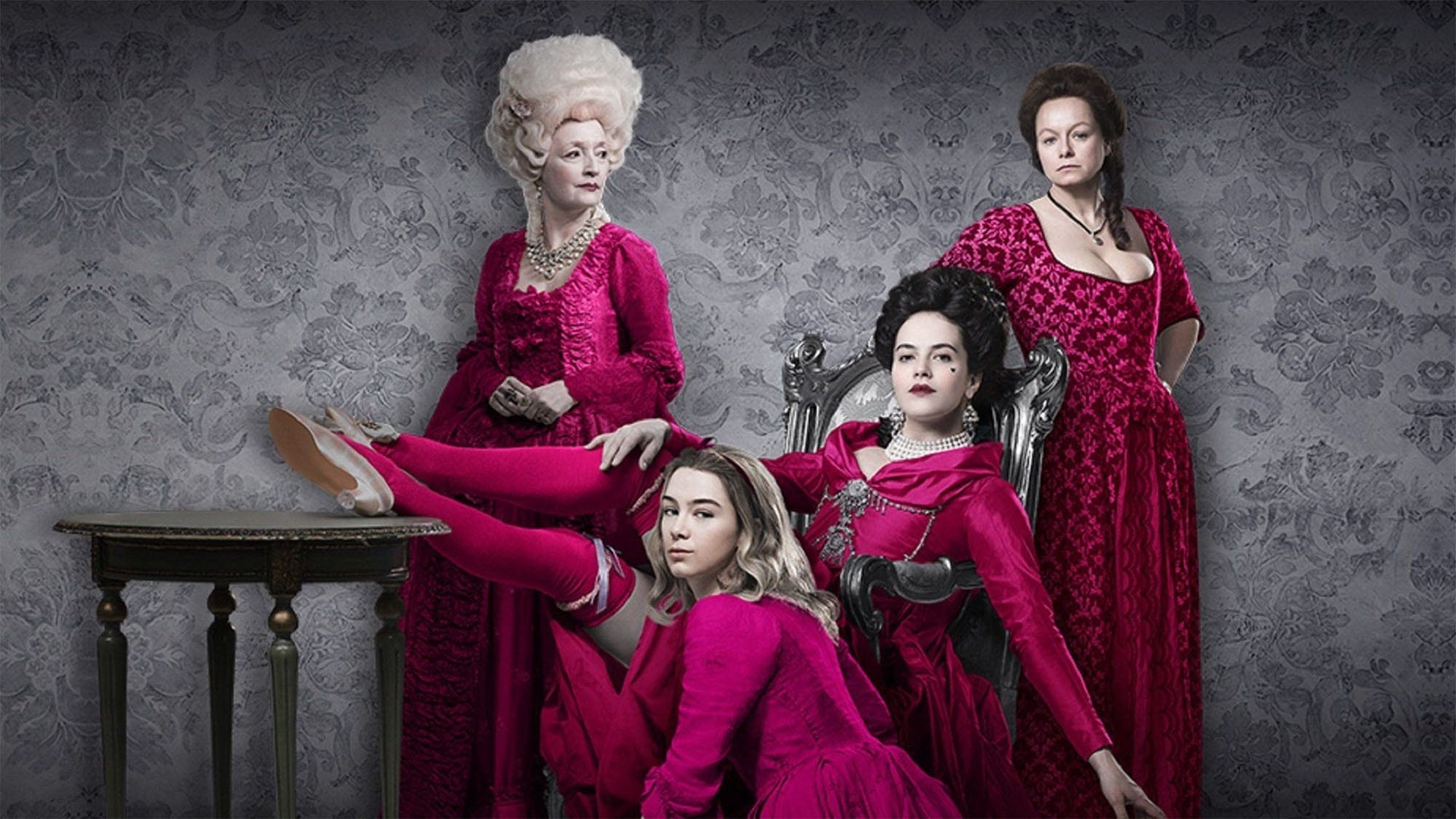 When madam Margaret's daughter Charlotte goes to arch-rival bawd Lydia Quigley, their deep-set rivalry is taken to a dangerous new level in 'Harlots'.