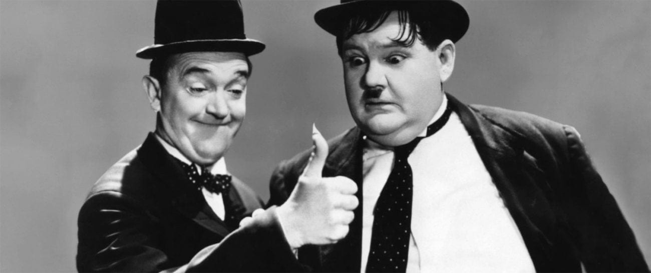 Physical comedy is the universal language of cinema – that's why the greats of the silent era were among the most famous individuals in the world.