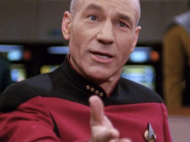 Brew up a celebratory cup of steaming Earl Grey, because here are six times Captain Picard proved he's always been Starfleet's most inspirational leader.