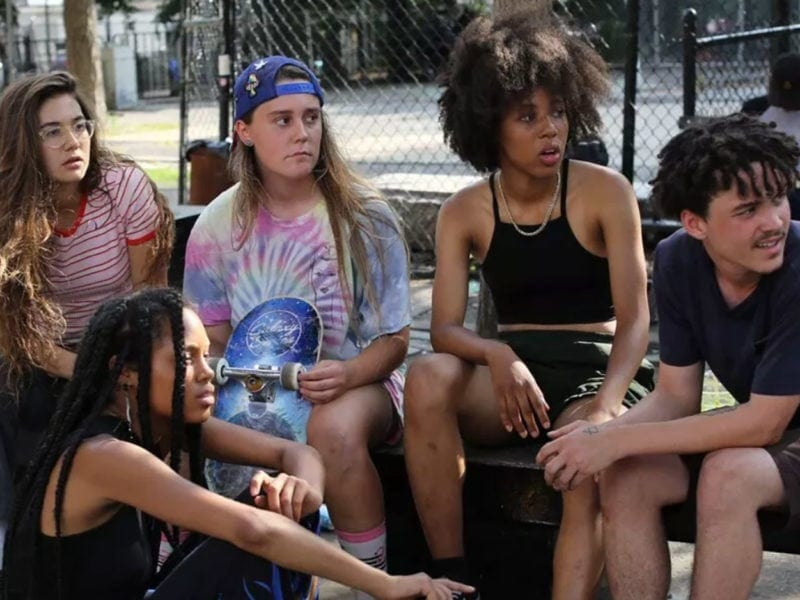 Given Crystal Moselle's recent feature'Skate Kitchen',we thought we'd look over the films and TV shows that featured roller skating in their storylines.