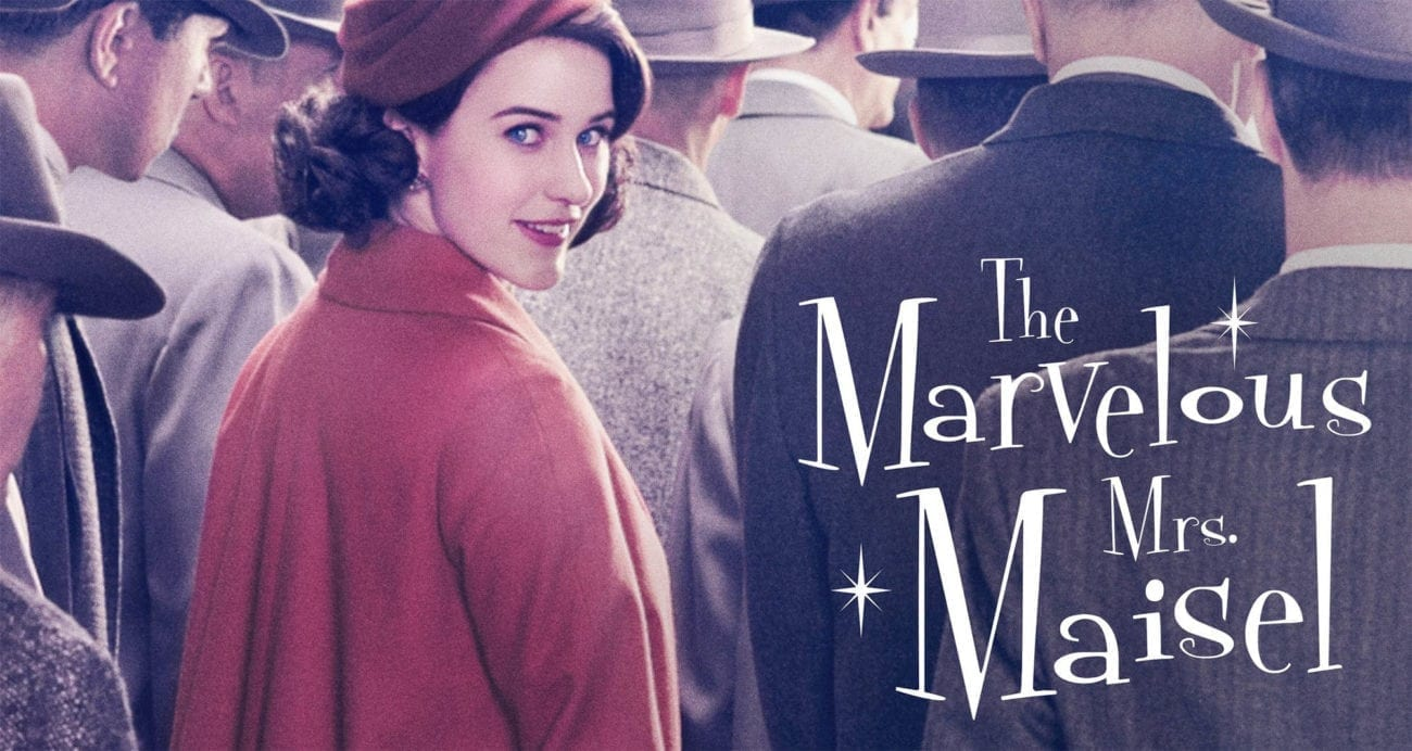 Image result for marvelous mrs maisel series