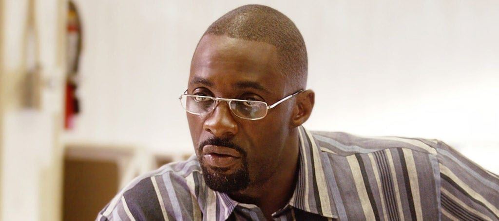 "Russell ""Stringer"" Bell (Idris Elba) in 'The Wire'"