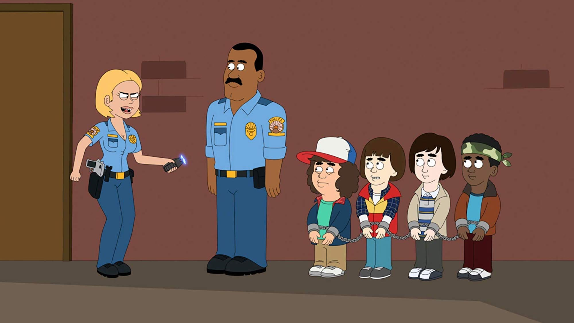 Netflix animated series 'Paradise PD' follows the worst first responders in a backwater, small-town police department.
