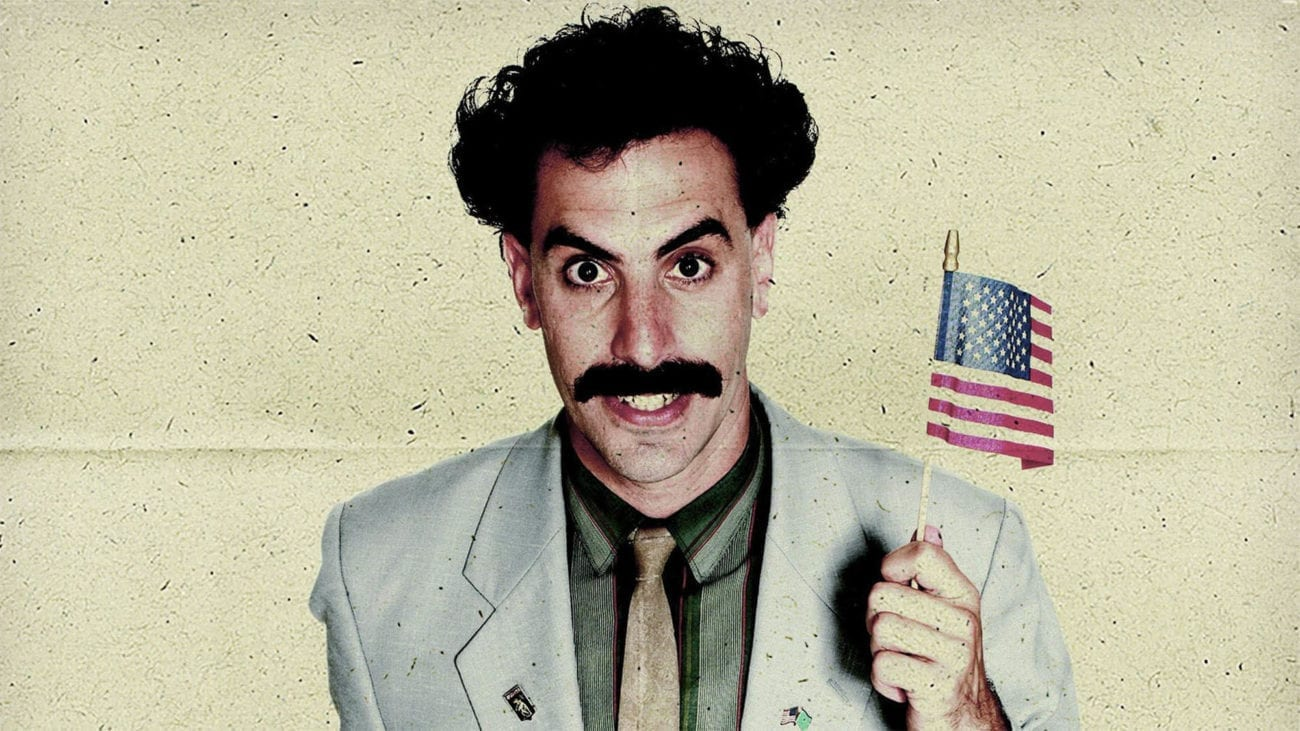 Showtime has revealed its new project with Sacha Baron Cohen – the comic's new TV show 'Who Is America?', which will premiere on July 15. To celebrate his forthcoming new show, we're taking a look at Cohen's most loved (and some not so loved) characters.