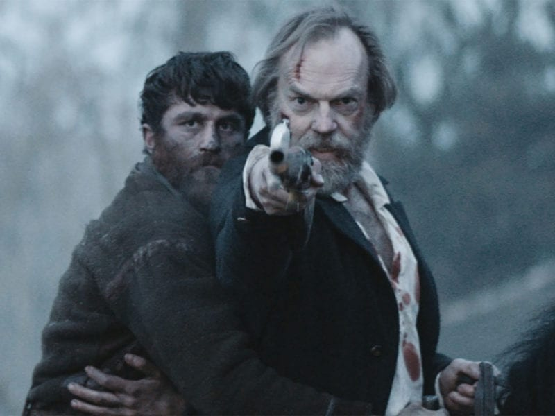 'Black 47' is an action film set during the Great Irish Famine and stars Hugo Weaving, Jim Broadbent, and the prolific Irish screen and stage actor Stephen Rea.