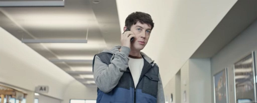 Derek (Alex Sharp) a brilliant college student, haunted by a childhood UFO sighting, believes that mysterious sightings reported at multiple airports across the United States are UFO's.