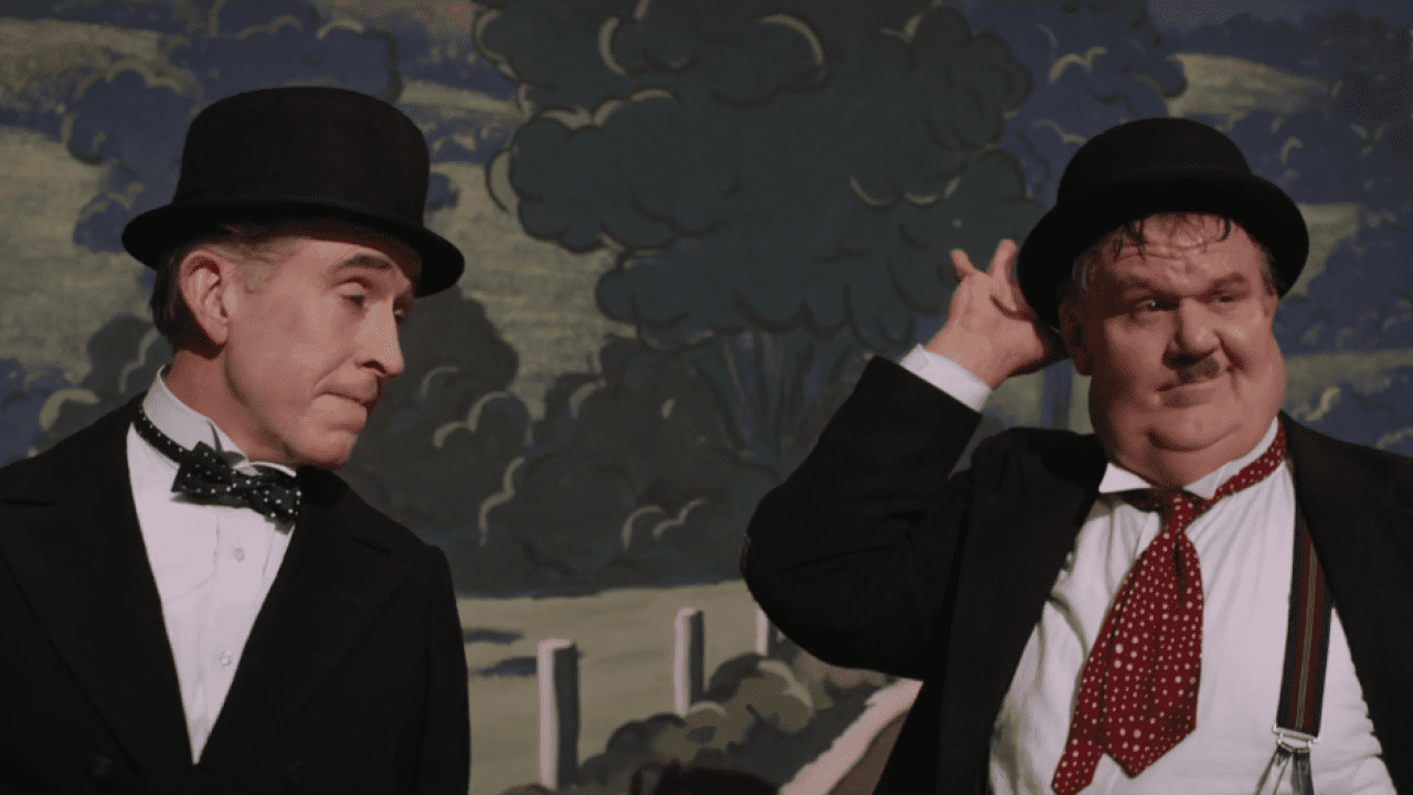 'Stan and Ollie' follows Laurel and Hardy attempting to reignite their careers as they embark on a grueling theatre tour of post-war Britain.
