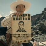 'The Ballad of Buster Scruggs' follows the story of two trail bosses on the Oregon Trail and a woman on the wagon train who is full of surprises.