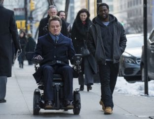 'The Upside' is a comedic look at the relationship between a wealthy quadriplegic and an unemployed man with a criminal record who's hired to help him.