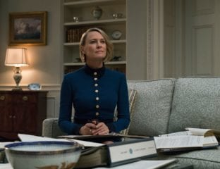 The final series of the Netflix political-drama 'House of Cards' sees Claire Underwood assume the role of president after her husband's resignation.
