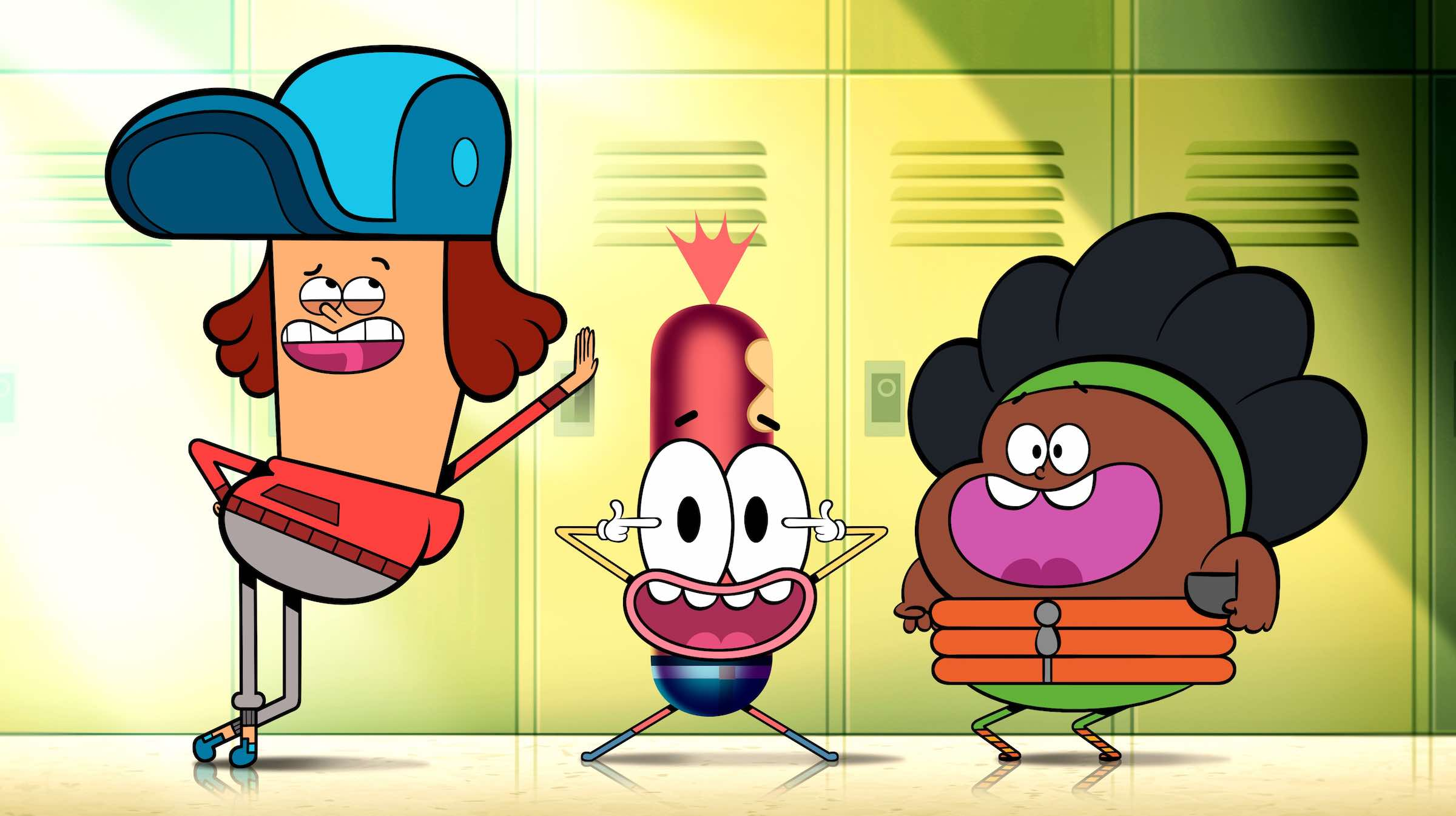 Yet another offbeat animation hoping to fill the gap left by Cartoon Network's Adventure Time, Pinky Malinky follows the life of a socially awkward high school student who happens to be a hot dog.