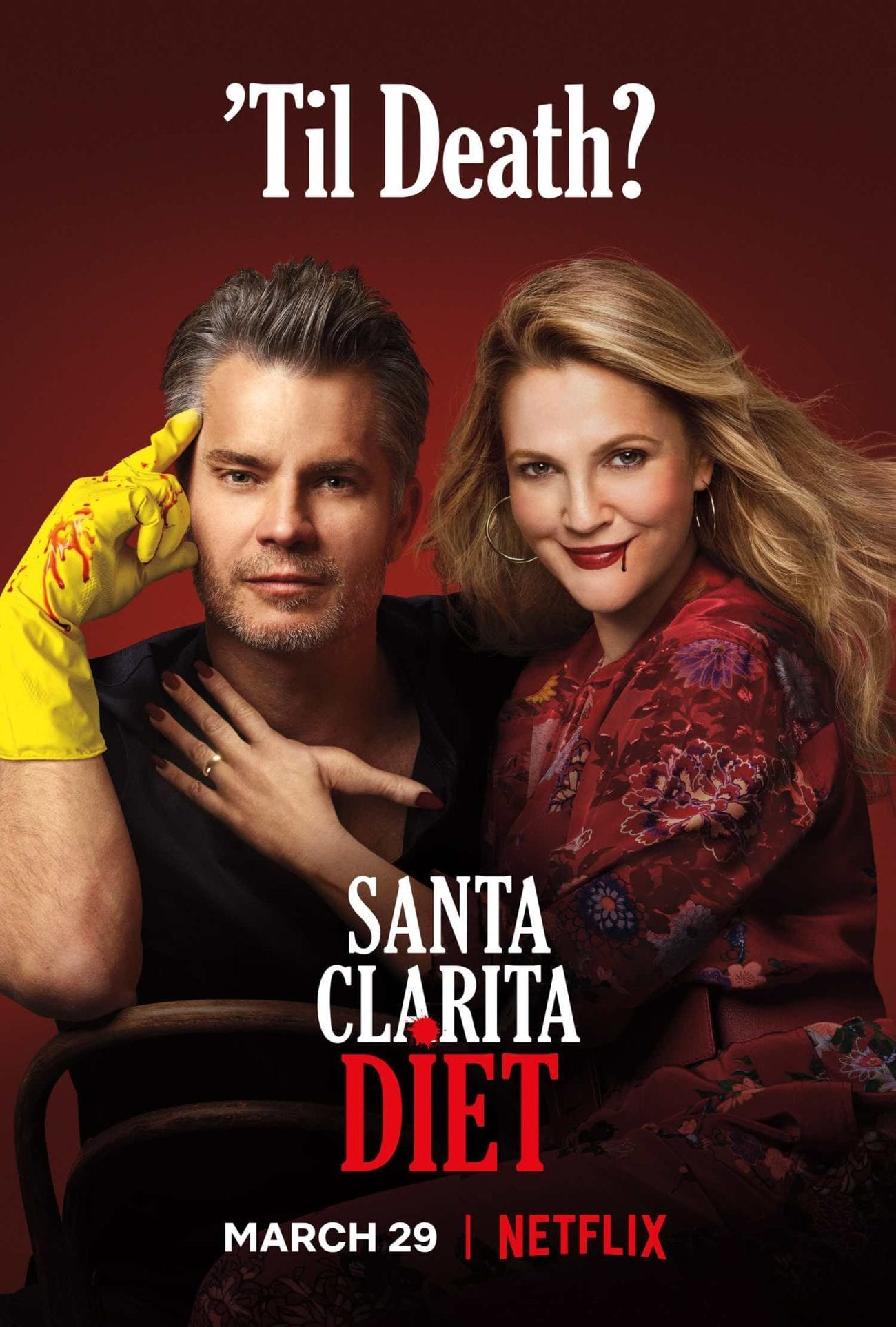 Season 3 of 'Santa Clarita Diet', the deliciously gory gem exploring the practical side of zombiedom, is now available on Netflix.