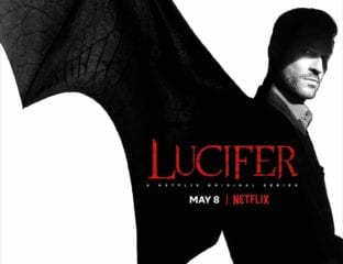 'Lucifer' S4 drops on Netflix May 8th, 2019. Check out this sexy teaser featuring Lucifer himself rising from an LA swimming pool.