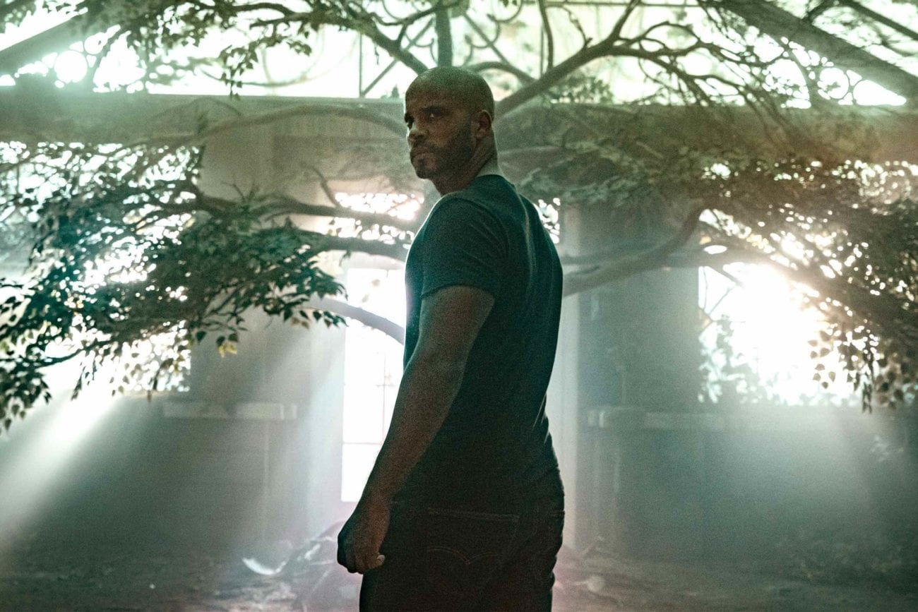 "At the end of the second season in 'American Gods' ""Moon Shadow"", we Shadow Moon finally gets his reckoning when an important truth is revealed to him."